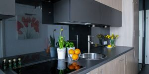 Kitchen Backsplash Glass panels