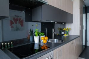 Kitchen Backsplash Glass panels