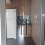 Kitchen swing door